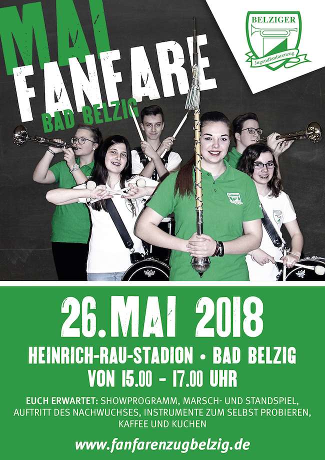 Plakat Mai-Fanfare